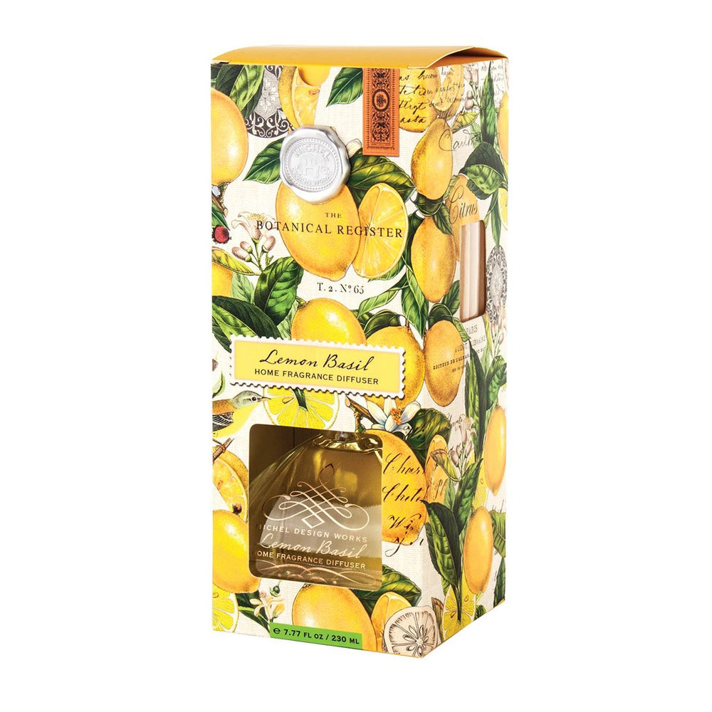 Home Fragrance Diffuser - Lemon Basil