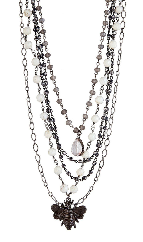 Bella Pearls Crystals and Gemstones Necklaces