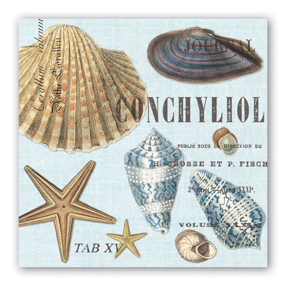 Sea Shells Luncheon Napkins