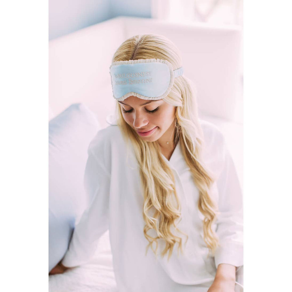 Silk Sleep Mask - Fabulousness Resumes Tomorrow3