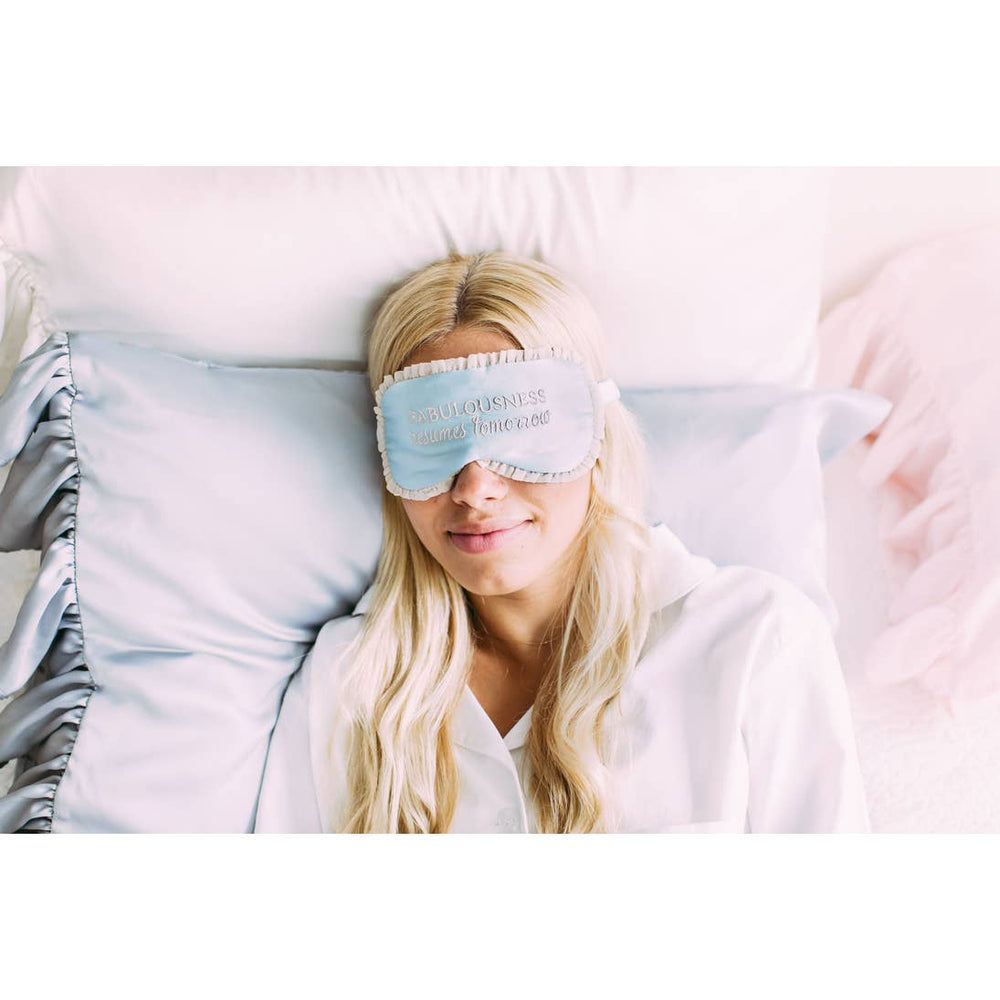 Silk Sleep Mask - Fabulousness Resumes Tomorrow