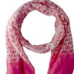 Mixed Pink Cotton Scarf