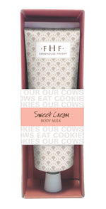 Sweet Cream Body Milk 2.4 oz. Travel Tube