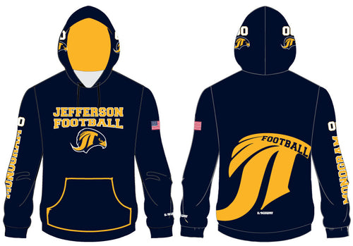 Jefferson Football Sublimated Hoodie