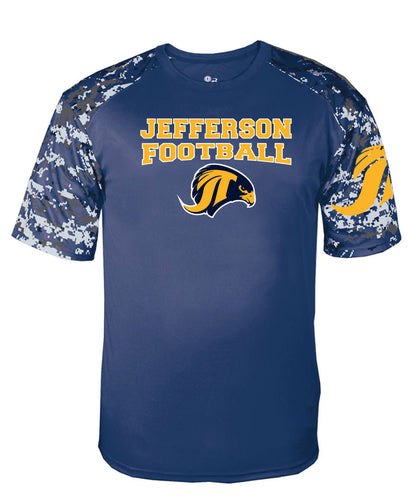 Jefferson Football Camo Tee - Youth