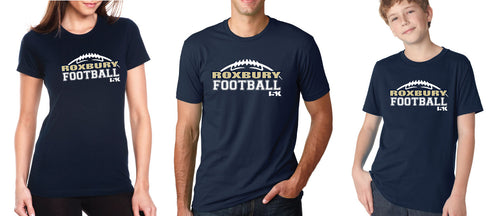 Roxbury Football 2017 Unisex Cotton Crew Tee