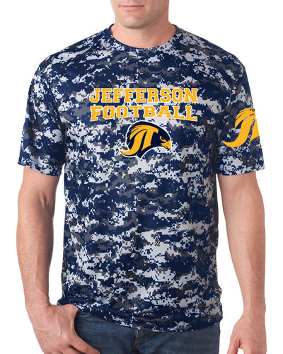 Jefferson Football Camo Tee - Adult