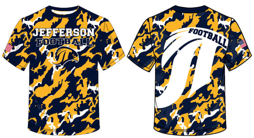 Jefferson Football Sublimated Camo Shirt
