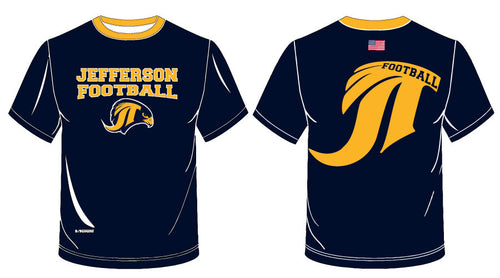 Jefferson Football Sublimated Raglan Shirt