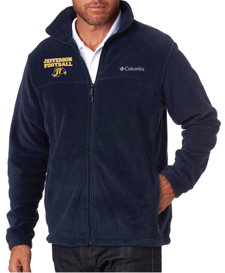 Jefferson Football Full Zip Fleece - 5KounT