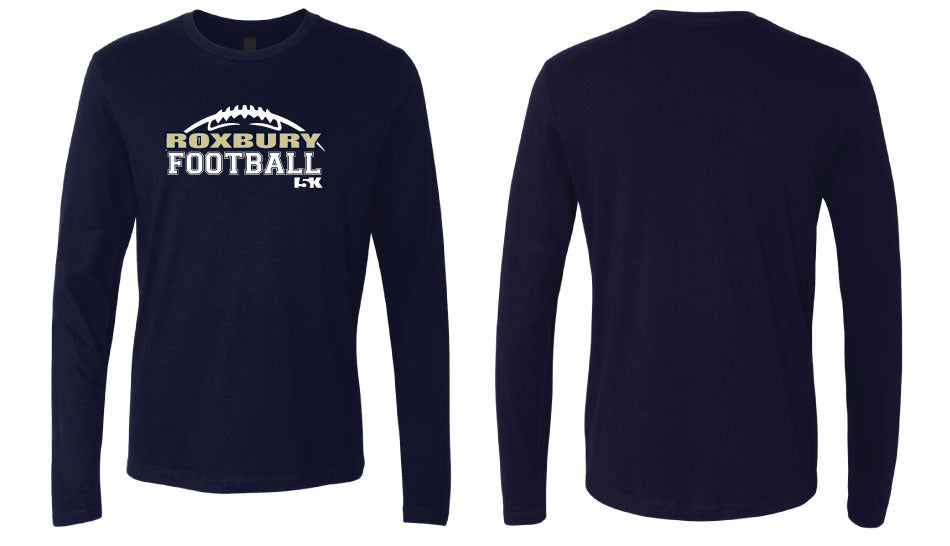 Roxbury Football 2017 Long Sleeve Cotton Crew - 5KounT