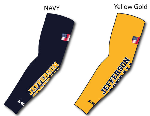 Jefferson Football Compression Sleeves
