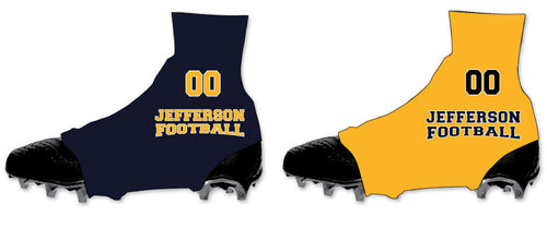Jefferson Football Spats (Cleat Covers)