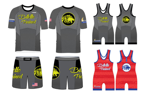 Bitetto Trained 2x Singlets Gray Package 2019 - 5KounT2018