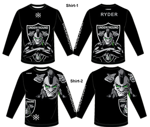 Underground Sublimated Long Sleeve Shirt