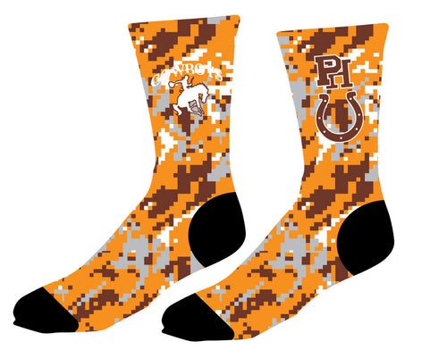 PH Sublimated Crew Socks- camo