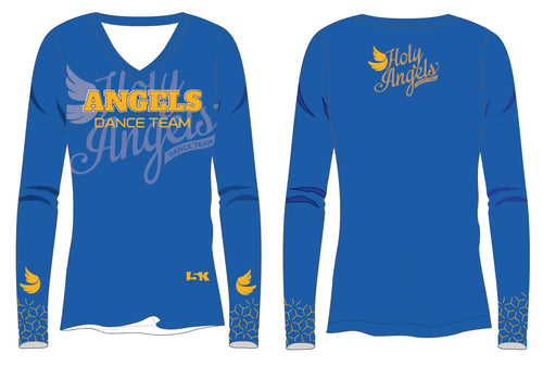 Angels Dance Team Sublimated Long Sleeve Shirt - Royal