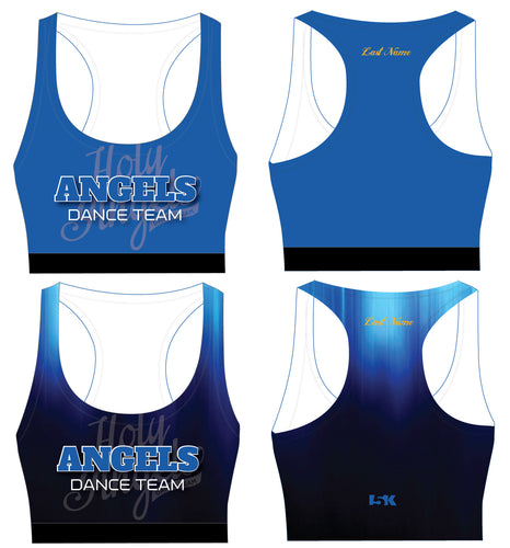Angels Dance Team Sublimated Sports Bra