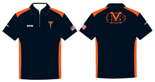 Berea-Midpark Wrestling Sublimated Polo - 5KounT2018