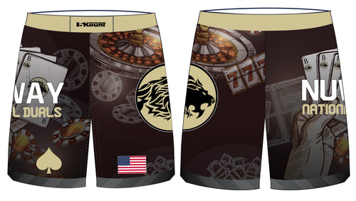 Bitetto Trained NuWay National Duals Sublimated Fight Shorts - 5KounT2018