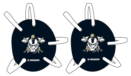 Braves Wrestling Headgear - Navy