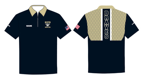 Braves Wrestling Sublimated Polo