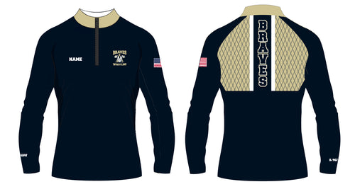 Braves Wrestling Sublimated Quarter Zip