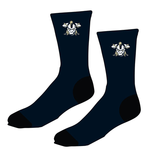 Braves Wrestling Sublimated Socks