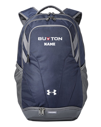 Buxton Under Armour Unisex Backpack - Navy - 5KounT2018
