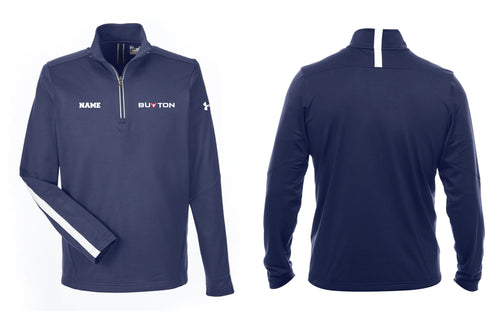 Buxton Under Armour Men's Qualifier 1/4 Zip - Navy - 5KounT2018