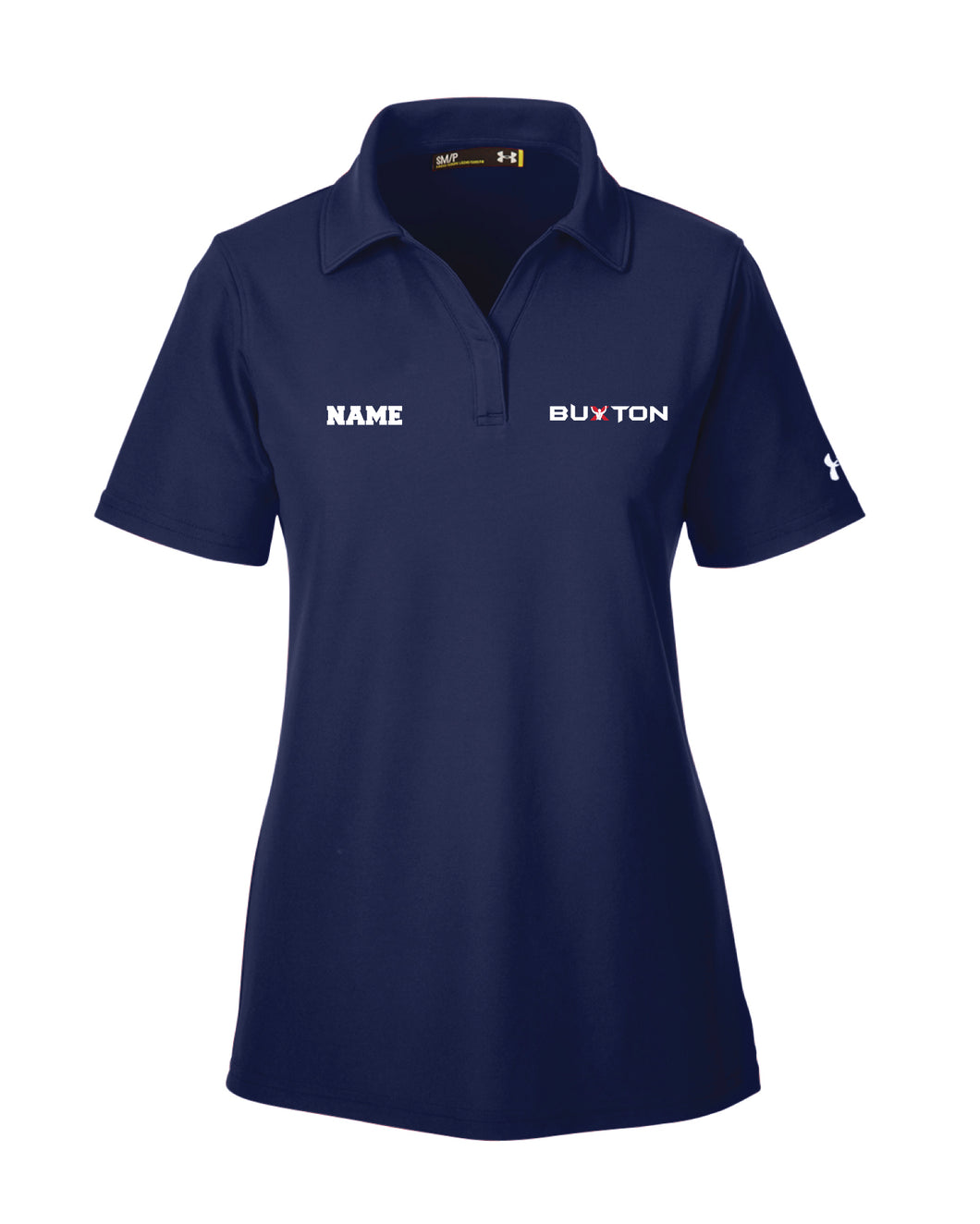 Buxton Under Armour Ladies' Corp Performance Polo - Navy - 5KounT2018