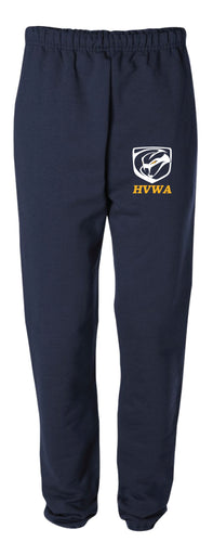 HVWA Cotton Sweatpants - Navy - 5KounT2018