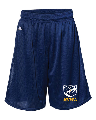 HVWA Russell Athletic  Tech Shorts - navy