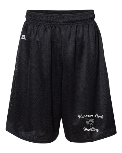 Hanover Park Youth Wrestling Russell Athletic  Tech Shorts - Black - 5KounT2018
