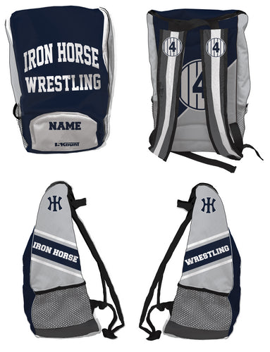 Iron Horse Wrestling Sublimated Backpack - 5KounT2018
