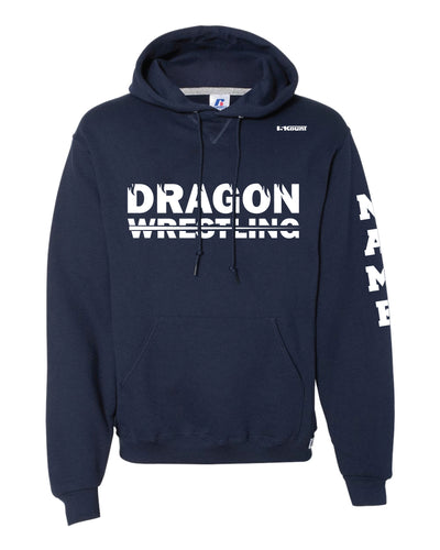 Middletown Dragons Russell Athletic Cotton Hoodie - Navy