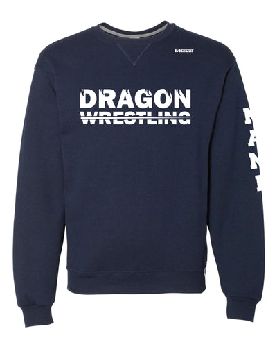 Middletown Dragons Russell Athletic Cotton Crewneck Sweatshirt - Navy