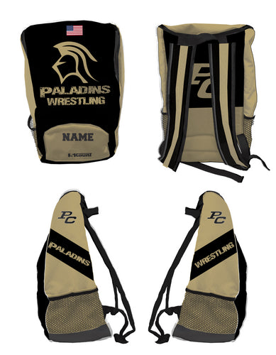 Paramus Catholic Wrestling Sublimated Backpack - 5KounT2018