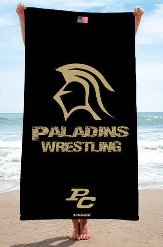 Paramus Catholic Wrestling Sublimated Beach Towel - 5KounT2018