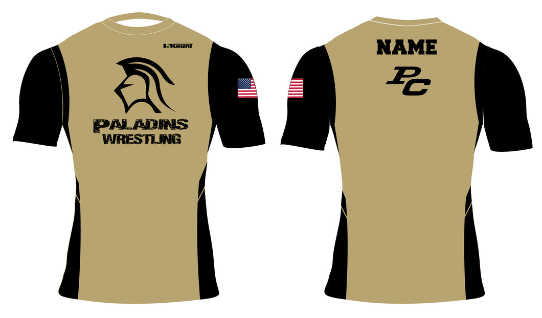 Paramus Catholic Wrestling Sublimated Compression Shirt 2 - 5KounT2018