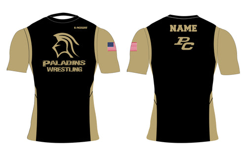 Paramus Catholic Wrestling Sublimated Compression Shirt - 5KounT2018