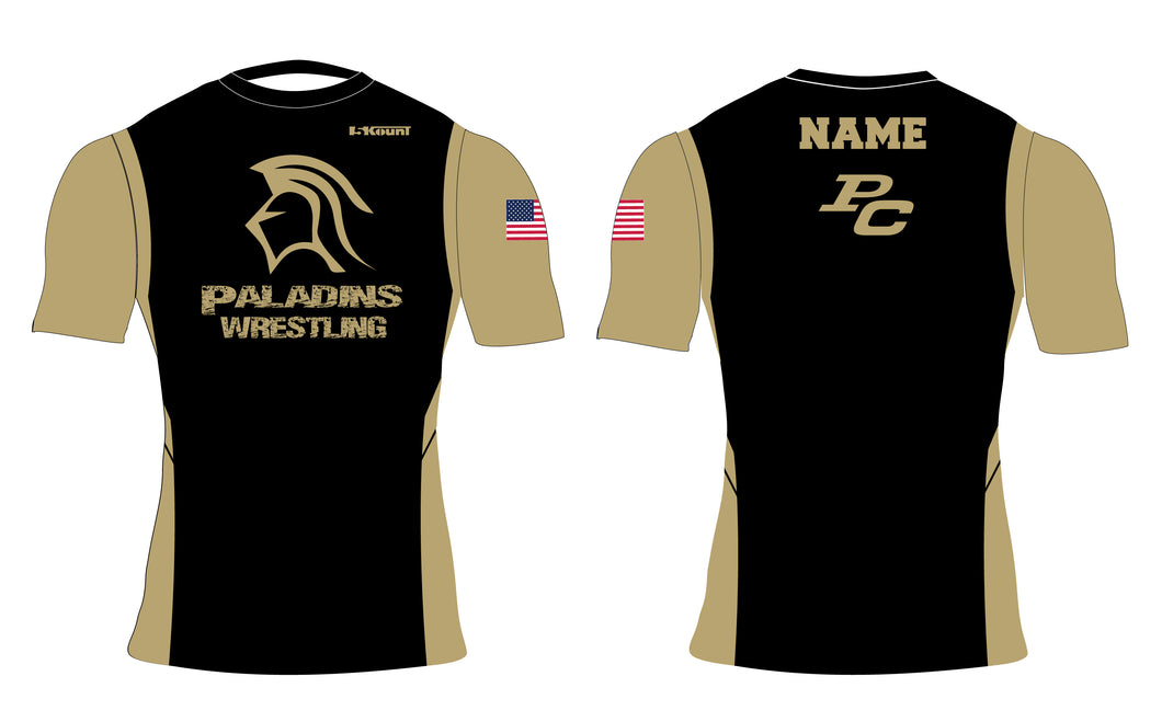 Paramus Catholic Wrestling Sublimated Compression Shirt