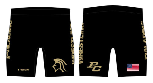 Paramus Catholic Wrestling Sublimated Compression Shorts - 5KounT2018