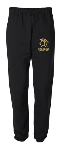 Paramus Catholic Wrestling Cotton Sweatpants - Black - 5KounT2018