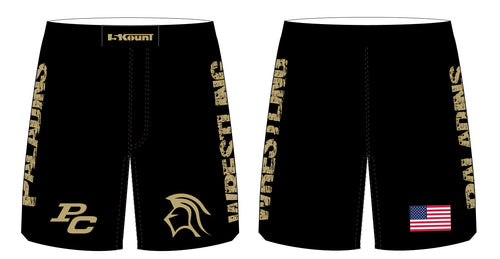 Paramus Catholic Wrestling Sublimated Fight Shorts - 5KounT2018