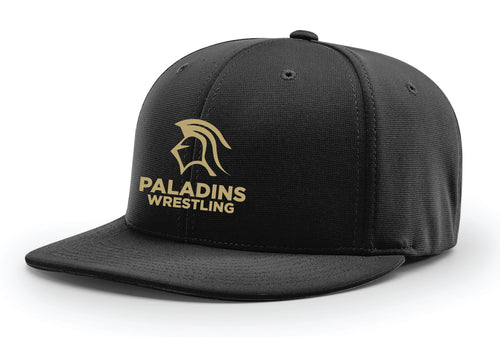 Paramus Catholic Wrestling Flexfit Cap 2 - Black - 5KounT2018