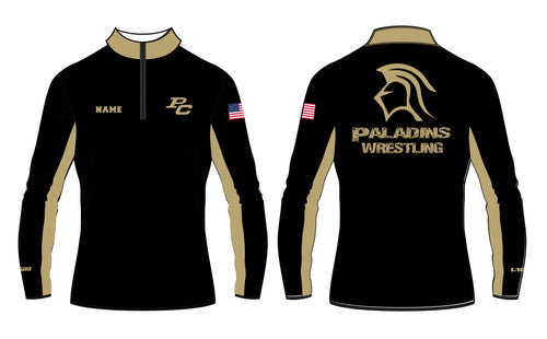 Paramus Catholic Wrestling Sublimated Fleece Quarter Zip - 5KounT2018