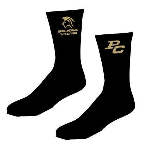 Paramus Catholic Wrestling Sublimated Socks - 5KounT2018
