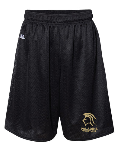 Paramus Catholic Wrestling Russell Athletic  Tech Shorts - Black - 5KounT2018