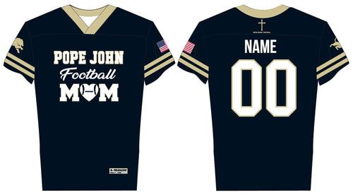 Pope John Football Sublimated Mom Game Jersey